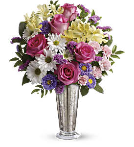 Smile And Shine Bouquet by Teleflora in Basking Ridge NJ, Flowers On The Ridge