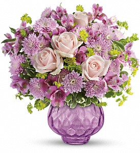 Teleflora's Lavender Chiffon Bouquet in Oklahoma City OK, Array of Flowers & Gifts
