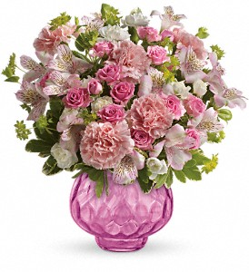 Teleflora's Simply Pink Bouquet in Oklahoma City OK, Array of Flowers & Gifts