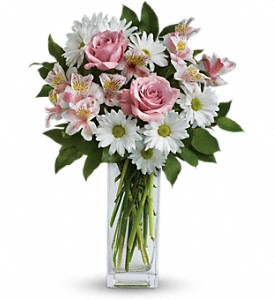 Sincerely Yours Bouquet by Teleflora in Charlotte NC, Wilmont Baskets & Blossoms