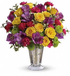 Teleflora's Fancy That Bouquet in Mount Morris MI, June's Floral Company & Fruit Bouquets