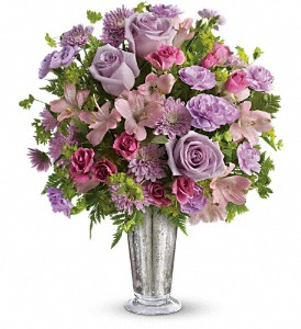Teleflora's Sheer Delight Bouquet in Mount Morris MI, June's Floral Company & Fruit Bouquets
