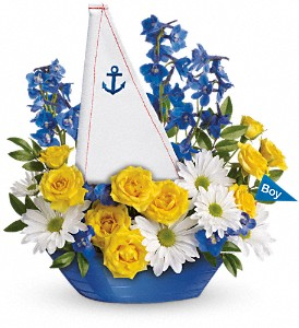 Ahoy It's A Boy Bouquet by Teleflora in West Chester OH, Petals & Things Florist