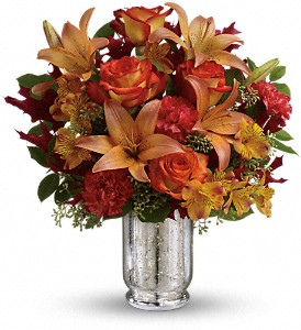 Teleflora's Fall Blush Bouquet in Huntington WV, Spurlock's Flowers & Greenhouses, Inc.