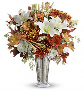 Teleflora's Harvest Splendor Bouquet in Avon OH, The Hen 'N The Ivy
