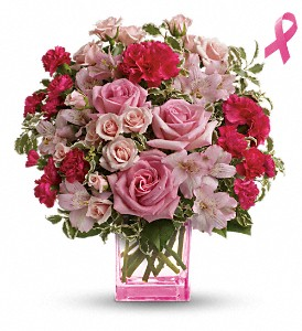 Teleflora's Pink Grace Bouquet in Stuart FL, Harbour Bay Florist