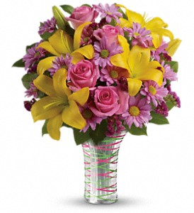 Teleflora's Spring Serenade Bouquet in Hamilton OH, Gray The Florist, Inc.