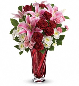 Teleflora's Swirling Beauty Bouquet in Plymouth MA, Stevens The Florist