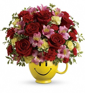 So Happy You're Mine Bouquet by Teleflora in Liverpool NY, Creative Florist