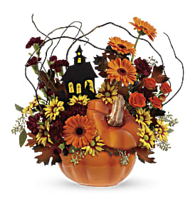 Teleflora's Haunted House Bouquet in Jonesboro AR, Bennett's Flowers