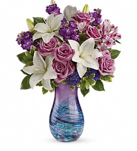 Teleflora's Artful Elegance Bouquet in Mississauga ON, Mums Flowers