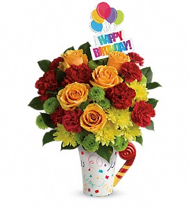 Teleflora's Fun 'n Festive Bouquet in Canton NC, Polly's Florist & Gifts