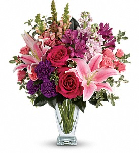 Teleflora's Morning Meadow Bouquet in Eugene OR, The Shamrock Flowers & Gifts