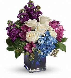 Teleflora's Portrait In Purple Bouquet in Terrace BC, Bea's Flowerland