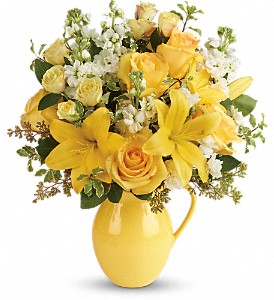 Teleflora's Sunny Outlook Bouquet in Bristol TN, Misty's Florist & Greenhouse Inc.