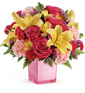 Teleflora's Pop Of Fun Bouquet in Bartlett IL, Town & Country Gardens