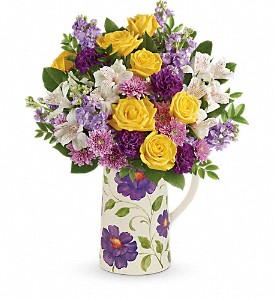Teleflora's Garden Blossom Bouquet in Norfolk VA, The Sunflower Florist