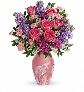Teleflora's Love And Joy Bouquet in Medford MA, Capelo's Floral Design