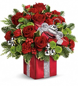 Teleflora's Gift Wrapped Bouquet in Maynard MA, The Flower Pot