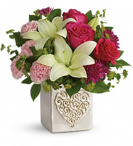 Teleflora's Love To Love You Bouquet in East Point GA, Flower Cottage on Main