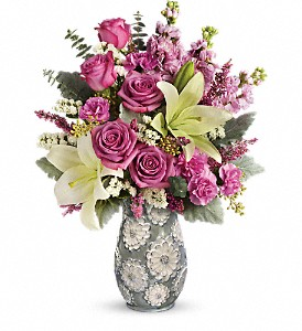 Teleflora's Blooming Spring Bouquet in San Antonio TX, Pretty Petals Floral Boutique