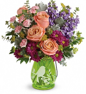 Teleflora's Soaring Spring Bouquet in Staten Island NY, Kitty's and Family Florist Inc.