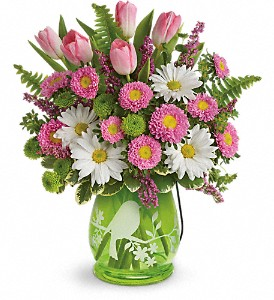 Teleflora's Songs Of Spring Bouquet in Salem MA, Flowers by Darlene/North Shore Fruit Baskets
