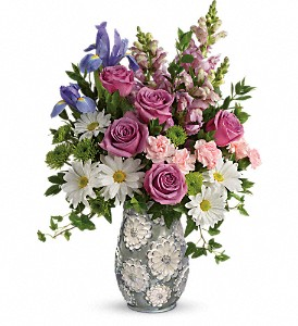 Teleflora's Spring Cheer Bouquet in Milwaukee WI, Flowers by Jan