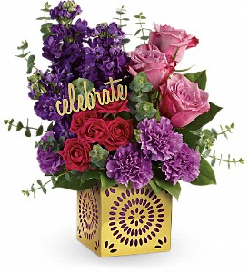 Teleflora's Thrilled For You Bouquet in Austin TX, Ali Bleu Flowers