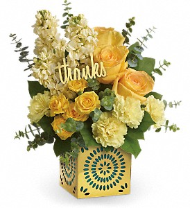 Teleflora's Shimmer Of Thanks Bouquet in Oklahoma City OK, Capitol Hill Florist and Gifts