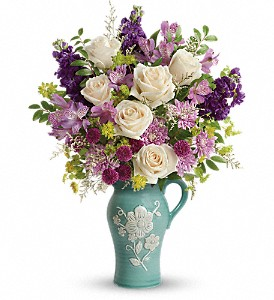 Teleflora's Artisanal Beauty Bouquet in Chelsea MI, Chelsea Village Flowers