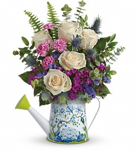 Teleflora's Splendid Garden Bouquet in Del City OK, P.J.'s Flower & Gift Shop
