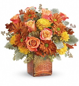 Teleflora's Grateful Golden Bouquet in Royersford PA, Three Peas In A Pod Florist