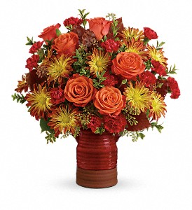 Teleflora's Heirloom Crock Bouquet in College Park MD, Wood's Flowers and Gifts