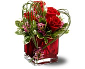 Teleflora's Sweet Thoughts Bouquet with Red Roses in Bluffton SC, Old Bluffton Flowers And Gifts
