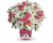 Teleflora's Polka Dots and Posies in Bluffton SC, Old Bluffton Flowers And Gifts