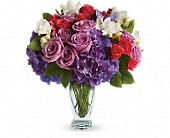 Teleflora's Rhapsody in Purple in Chicago IL, Marcel Florist Inc.
