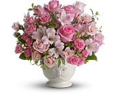 Teleflora's Pink Potpourri Bouquet with Roses in Bluffton SC, Old Bluffton Flowers And Gifts