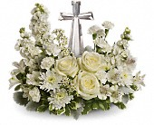 Teleflora's Divine Peace Bouquet in Bluffton SC, Old Bluffton Flowers And Gifts