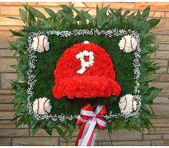 Stein Phillies Baseball Cap - Special Design in Burlington NJ, Stein Your Florist