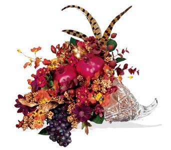 Teleflora's Waterford Everlasting Cornucopia Local and Nationwide Guaranteed Delivery - GoFlorist.com