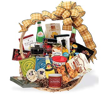 Fireside Gourmet Basket in Princeton, Plainsboro, & Trenton NJ, Monday Morning Flower and Balloon Co.