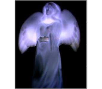 Lighted Angel in Haleyville AL, DIXIE FLOWERS & GIFTS