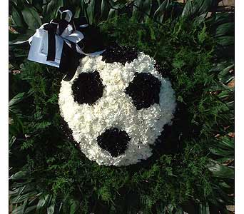 Stein Soccer Ball - Special Design Piece in Burlington NJ, Stein Your Florist