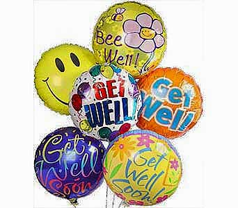 Get Well Wishes Balloons in Princeton, Plainsboro, & Trenton NJ, Monday Morning Flower and Balloon Co.