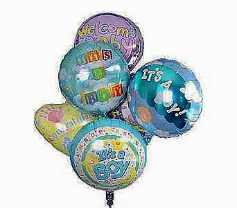 It's a Boy Balloon Bouquet in Princeton, Plainsboro, & Trenton NJ, Monday Morning Flower and Balloon Co.