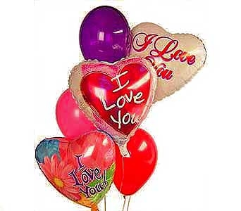 I love You Much Balloons in Princeton, Plainsboro, & Trenton NJ, Monday Morning Flower and Balloon Co.