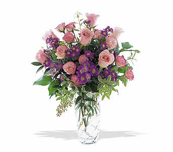 Pink Elegance Bouquet in Norristown PA, Plaza Flowers
