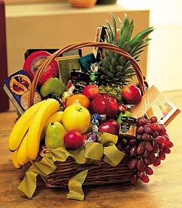 Gourmet Fruit Basket in Norristown PA, Plaza Flowers