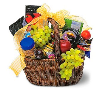 Gourmet Picnic Basket in Norristown PA, Plaza Flowers
